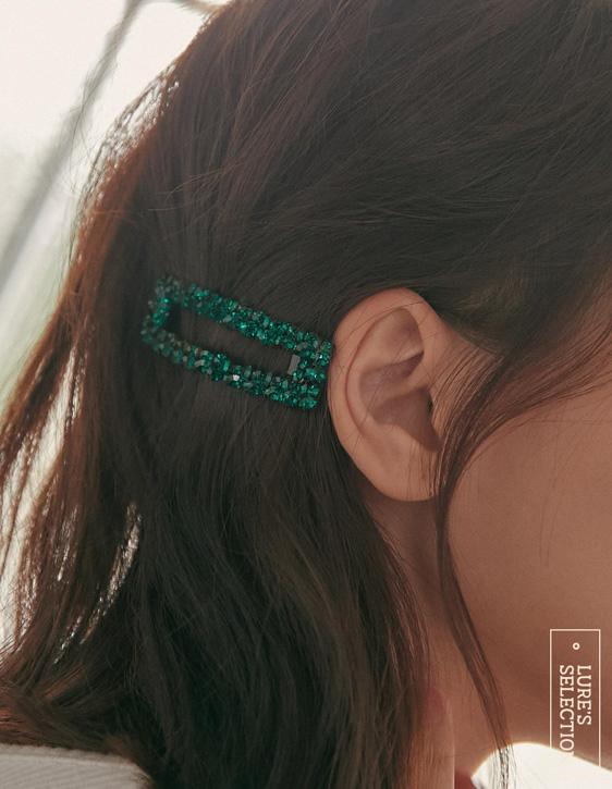 選品系列:水鑽髮夾