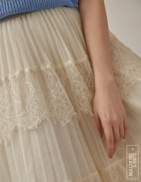 選品系列:蕾絲蛋糕紗裙
