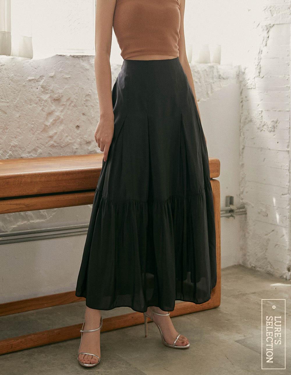 選品系列:仿絲亮面裙