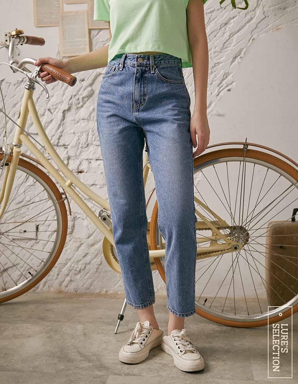 選品系列:九分牛仔褲