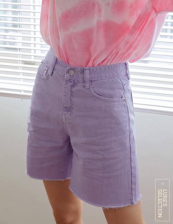 選品系列:彩色牛仔短褲