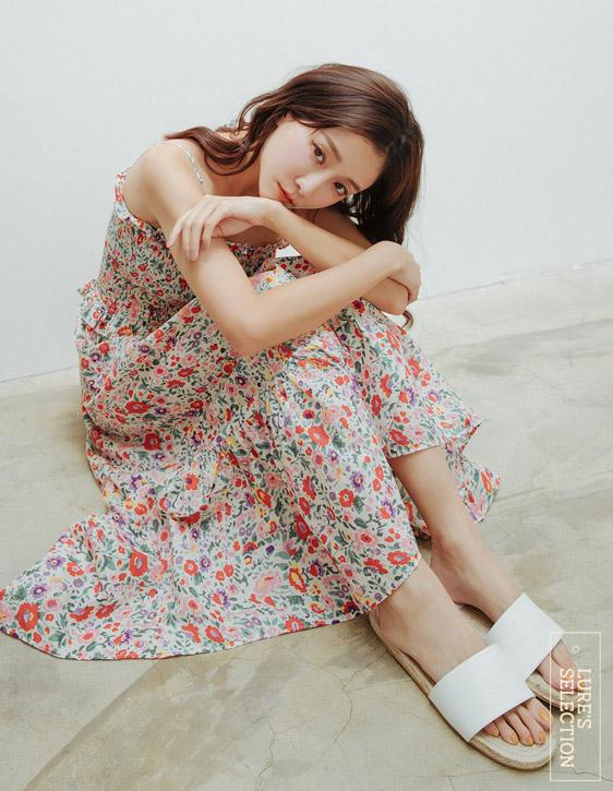 選品系列:花版鬆緊洋裝