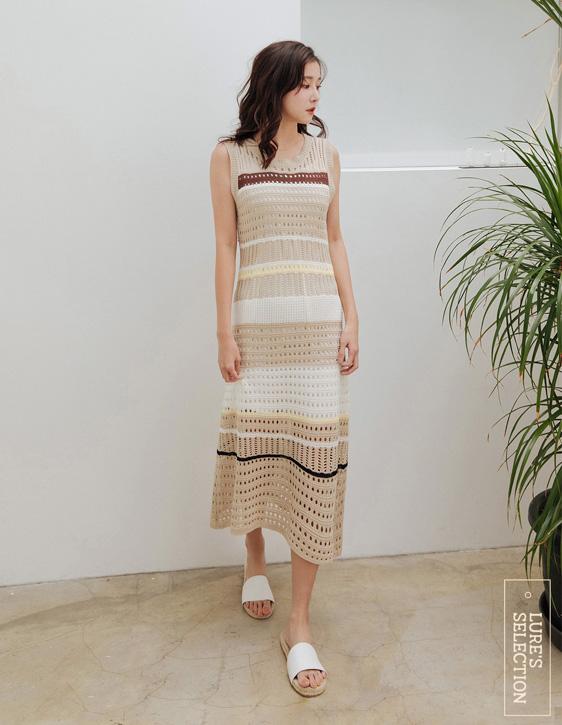 選品系列:鏤空針織洋裝