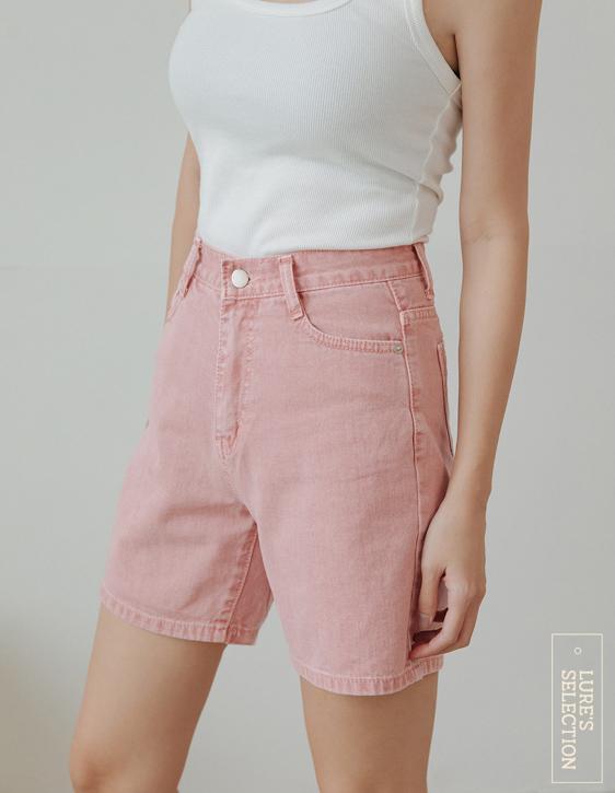 選品系列:彩色洗水短褲