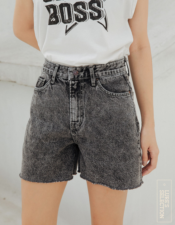 選品系列:雪花牛仔短褲