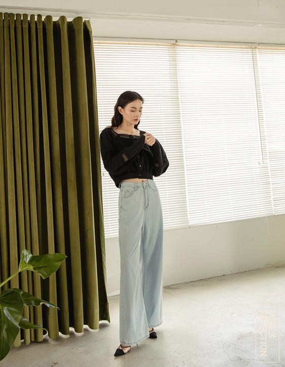 選品系列:舒適牛仔寬褲