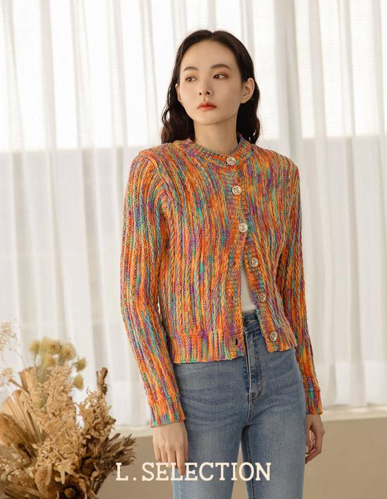 選品系列:彩色針織外套