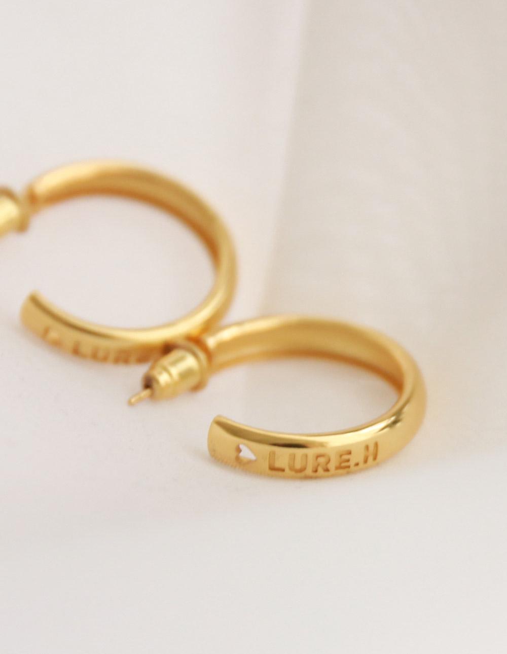 LURE H 925純銀耳環