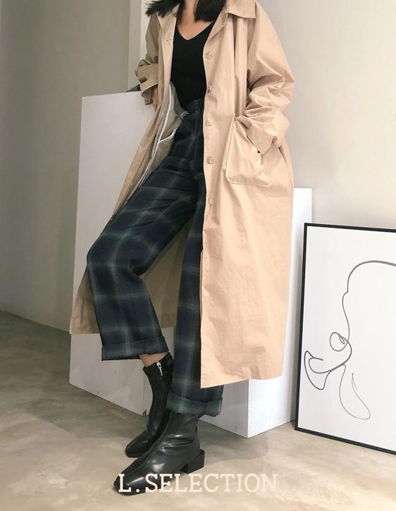 選品系列:綁帶風衣外套