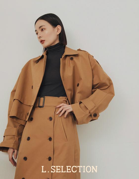 選品系列:雙排釦風衣外套