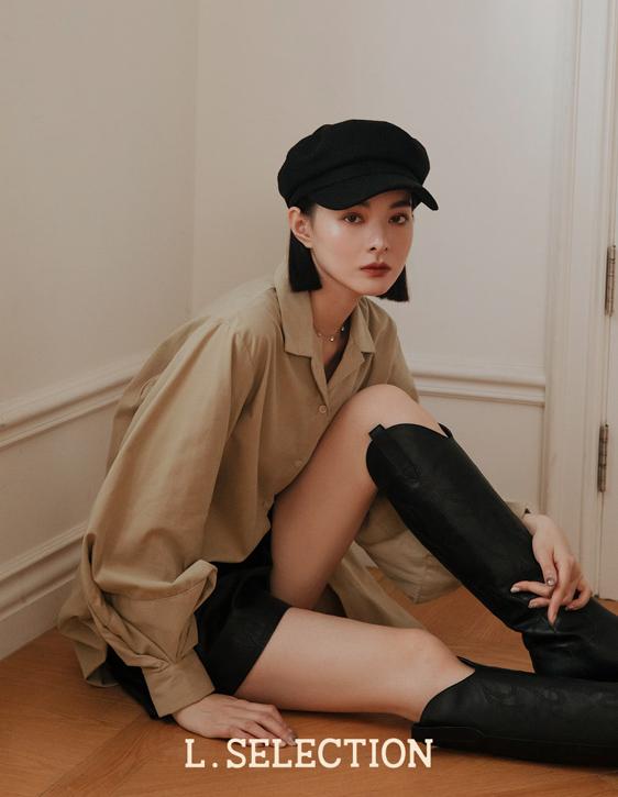 選品系列:澎袖感襯衫洋裝