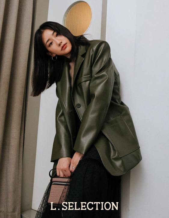 選品系列:內鋪棉皮外套