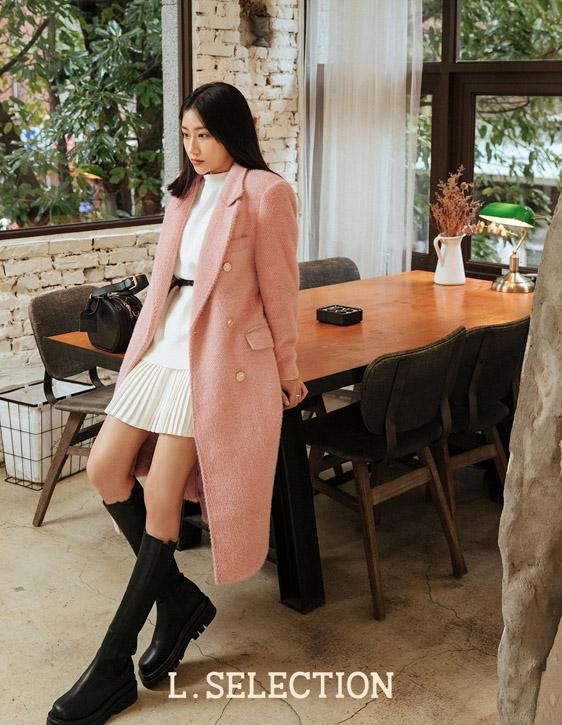 選品系列:雙排釦西裝大衣