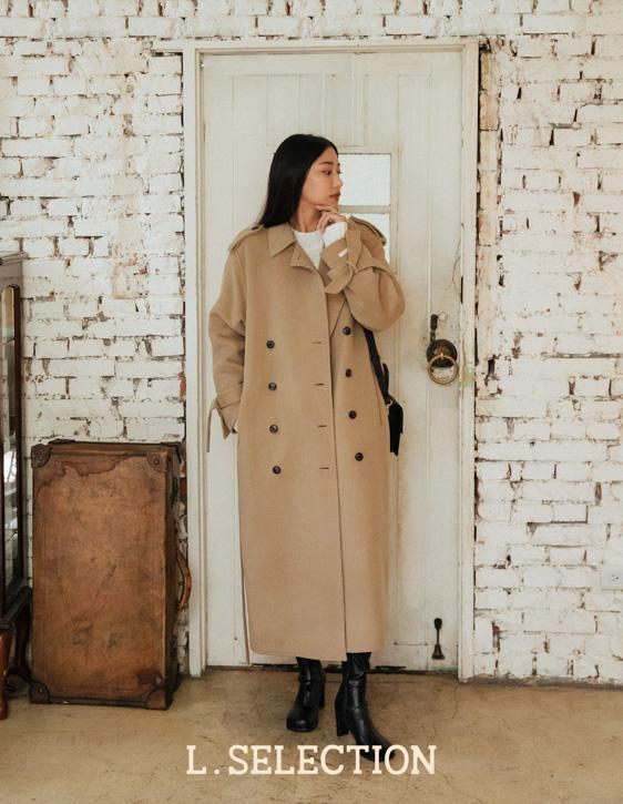 選品系列:率性雙排釦大衣