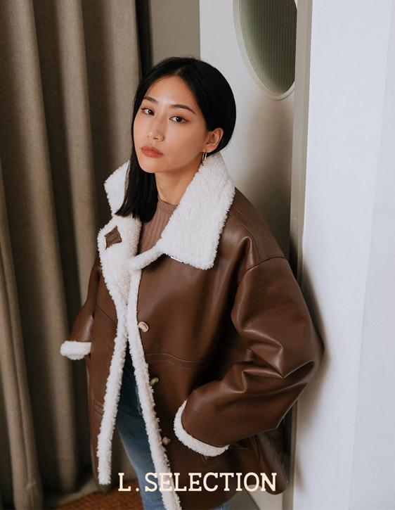 選品系列:仿羊羔毛皮外套