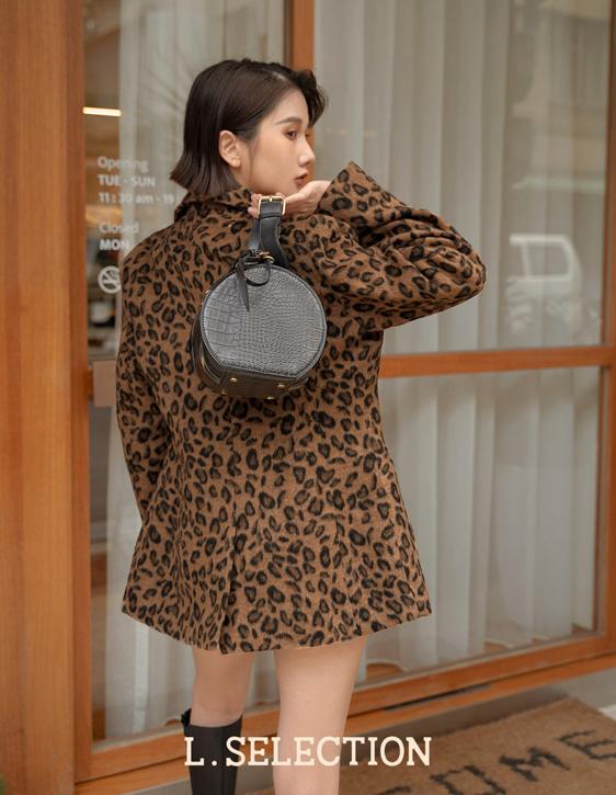 選品系列:毛料豹紋西外