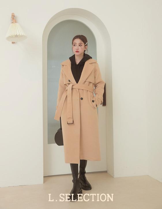 選品系列:雙排釦設計大衣
