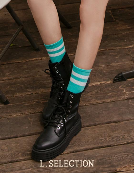 選品系列:運動風中筒襪