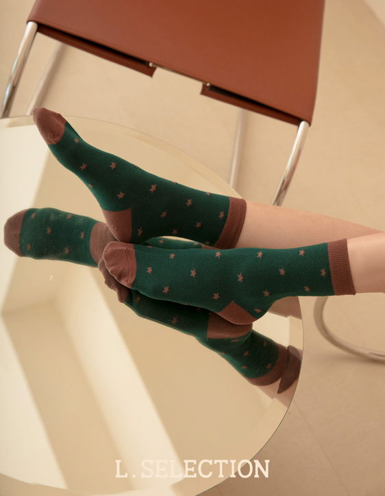 選品系列:滿版星星襪