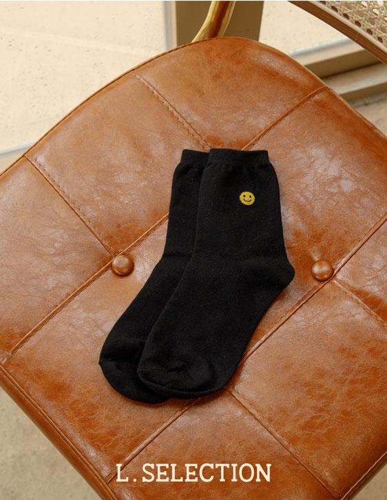 選品系列:笑臉小標襪