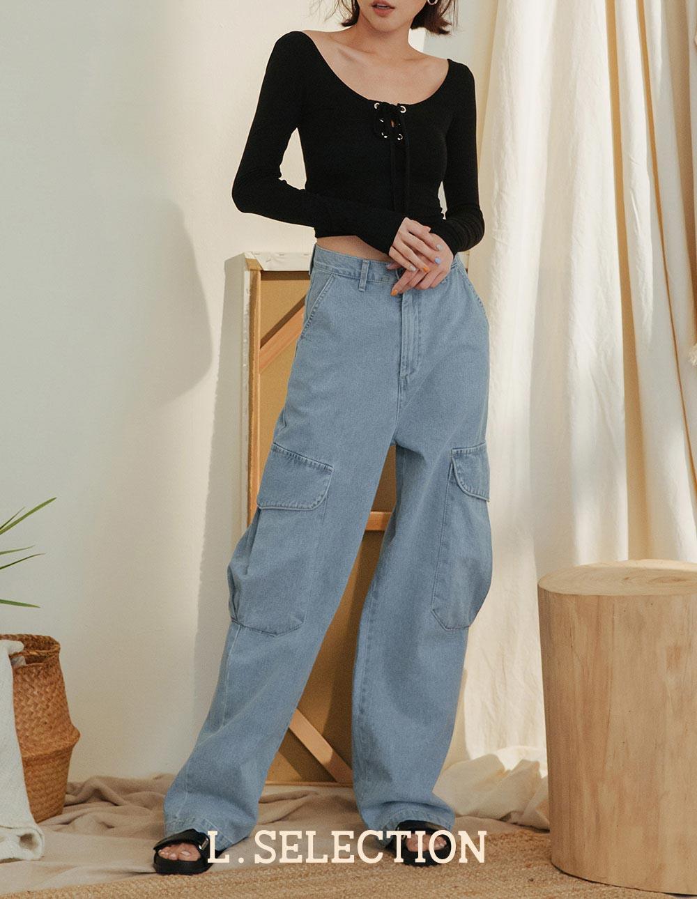 選品系列:牛仔工裝褲