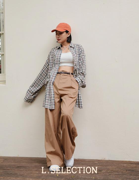 選品系列:格紋襯衫外套