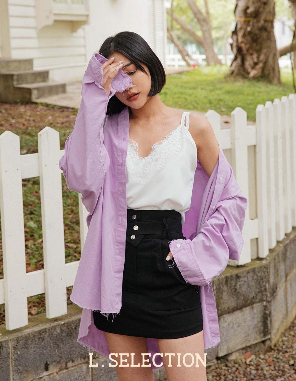 選品系列:腰間設計短裙