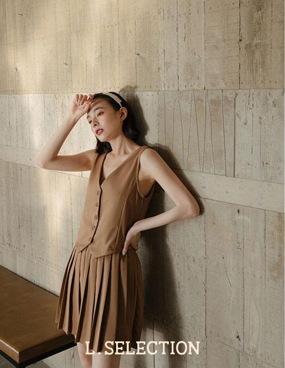 選品系列:西裝料百褶裙