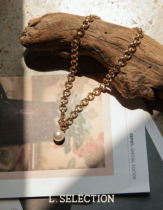選品系列:小圓珠珍珠項鍊