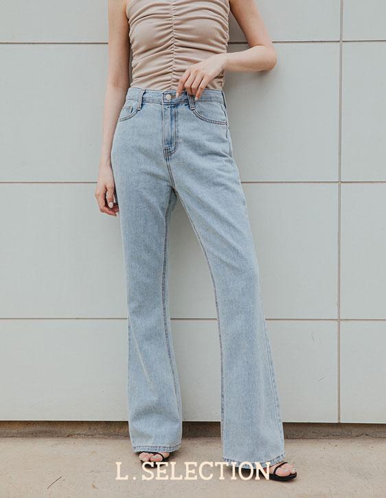 選品系列:微喇叭牛仔褲