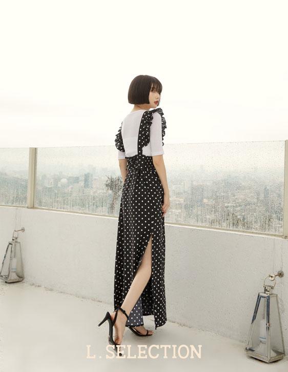 選品系列:荷葉邊吊帶裙