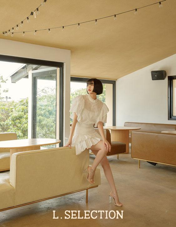 選品系列:荷葉鬆緊短裙