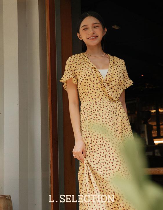 選品系列:碎花綁帶洋裝