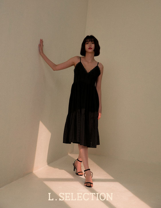 選品系列:蕾絲細帶洋裝