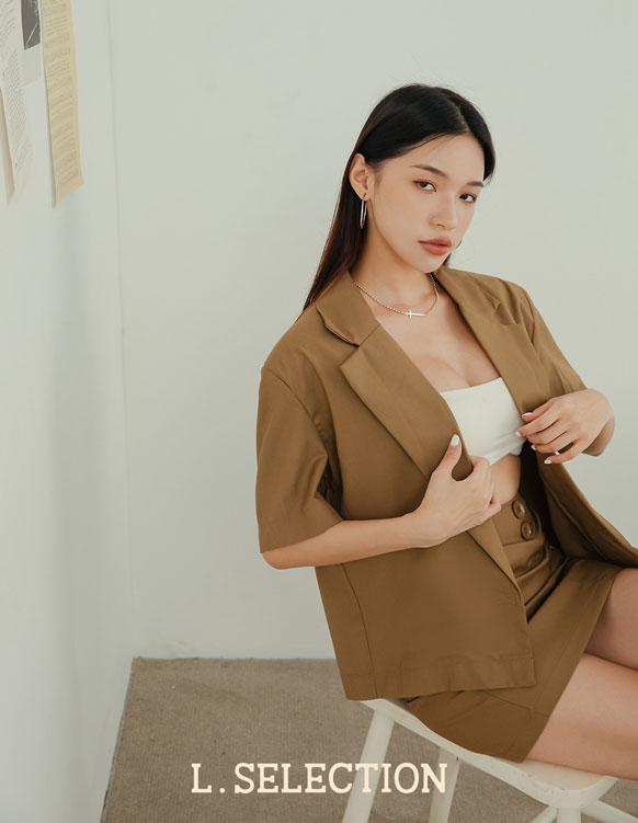 選品系列:短裙西裝套裝