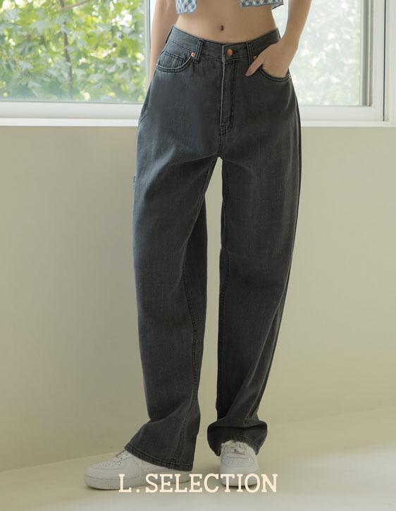 選品系列:落地寬鬆牛仔褲
