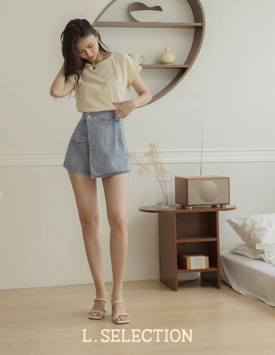 選品系列:一片式設計褲裙