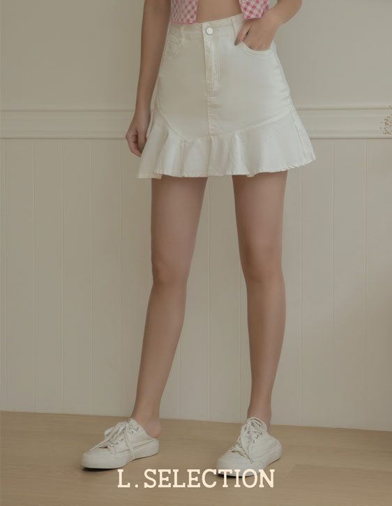 選品系列:魚尾牛仔短裙