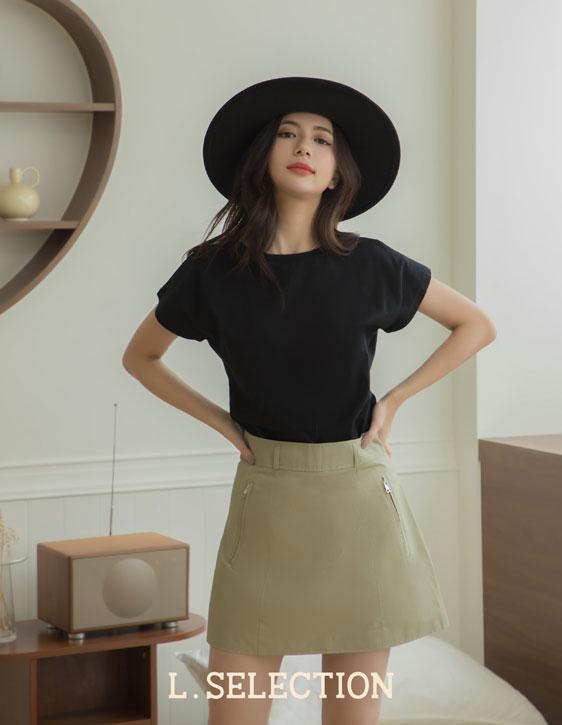 選品系列:A字型短裙
