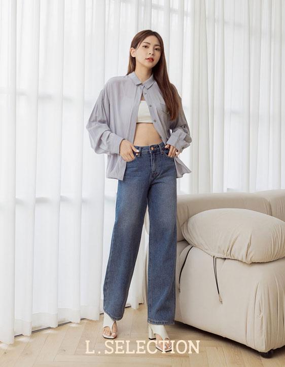 選品系列:寬鬆牛仔褲