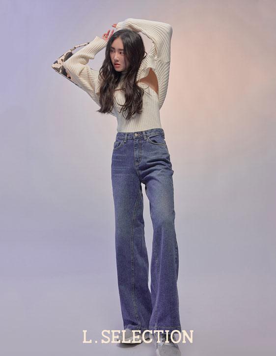 選品系列:寬版牛仔褲