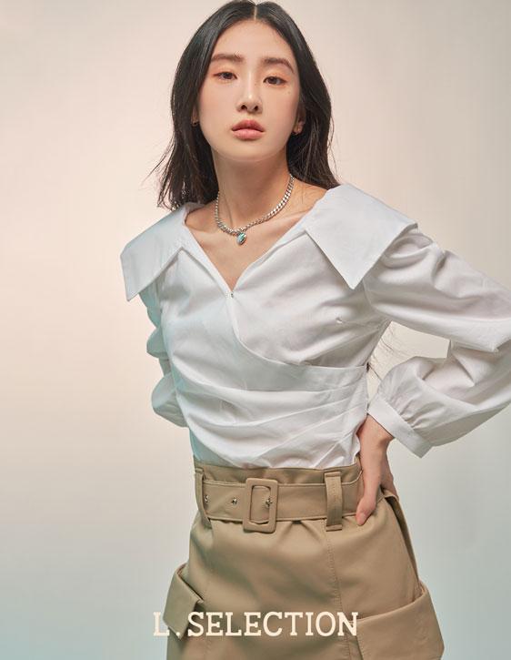 選品系列:露肩襯衫